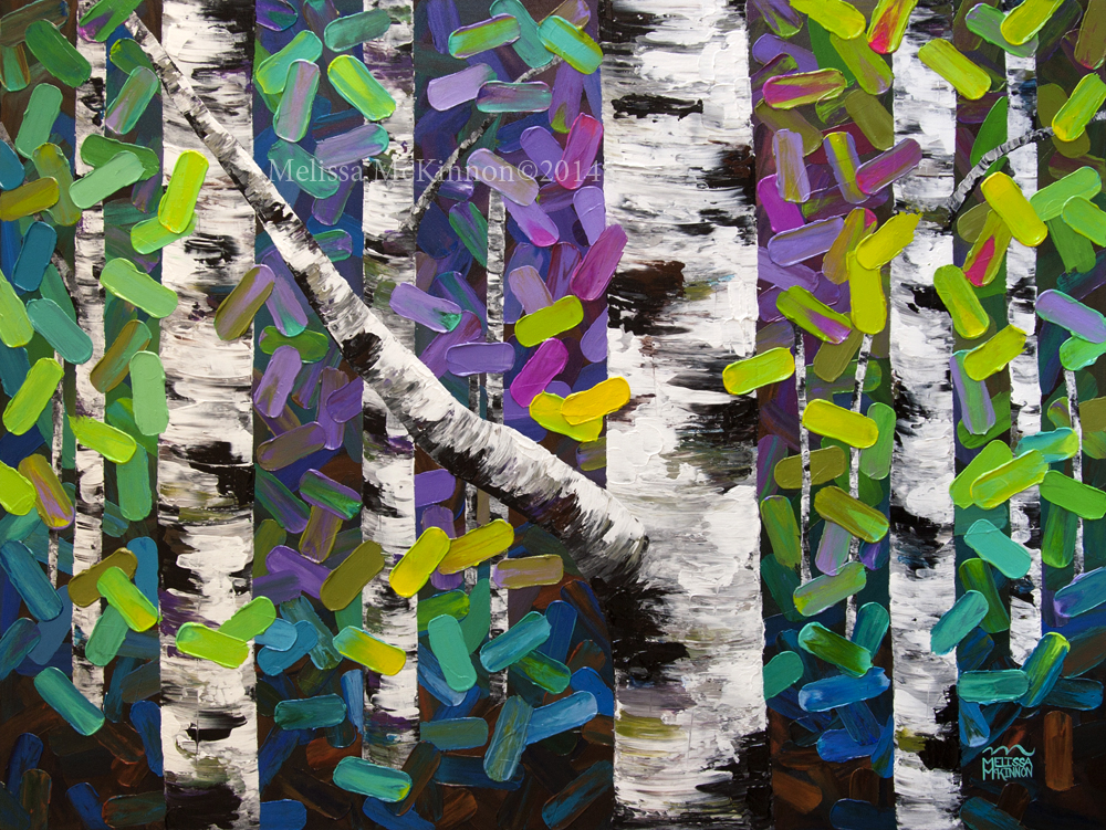 Oil Paintings of Birch Trees Birch Tree Painting on