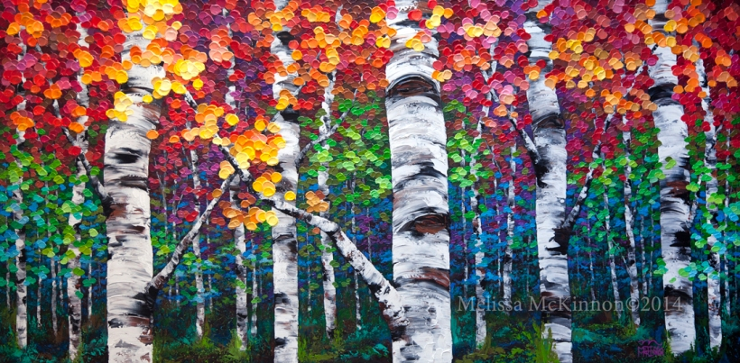paintings, art, tree art, artwork, spring, aspen, birch, Calgary artist, Canadian artist, Alberta Landscape Painter, Contemporary Alberta Artist, Alberta Landscape Painting, Calgary paintings, Birch Tree Painting, Birch Tree Paintings, Aspen Tree Painting, Aspen Tree Paintings, Calgary Fine Art, Calgary, Alberta, Canada, Canadian Rocky Mountains, Banff, Canmore, Lake Louise, sky, prairies, mountain, mountains, lake, river, water, ocean, beach, playa, clouds, leaves, flowers, floral, abstract, Canada, Rockies, Art collector, artist to collect, original paintings, landscape paintings, oil paintings, acrylic paintings,tree paintings,paintings of trees, abstract paintings, abstract, modern, contemporary, fine art, art, art gallery,contemporary landscape painting, contemporary landscape artist, contemporary art, contemporary painting, aspen artist, Melissa Mckinnon, Aspen paintings, Aspen tree art, Aspen tree artist, Autumn Aspens, Autumn birches, Aspens, Autumn leaves, Birches, Big paintings, large paintings, impasto, thick paint, paintings with texture, palette knife, birch art, birch paintings, landscape painting commission, Painting Commission, Commission artist painter, custom painting, Aspen fine art, aqua art painting, teal art painting, turquoise art painting, yellow art painting, green art painting, black and white art painting, blue art painting, bright colors, bright painting, colourful painting, colourful, paintings for sale, home decor trends, art gallery, art exhibit, new paintings, art shows, custom paintings, painting commission, paintings for sale, greeting cards, art greeting cards,artistic note cards, custom greeting cards, aspen birch tree greeting cards, pintura, quadro, Chile arts, South America art,