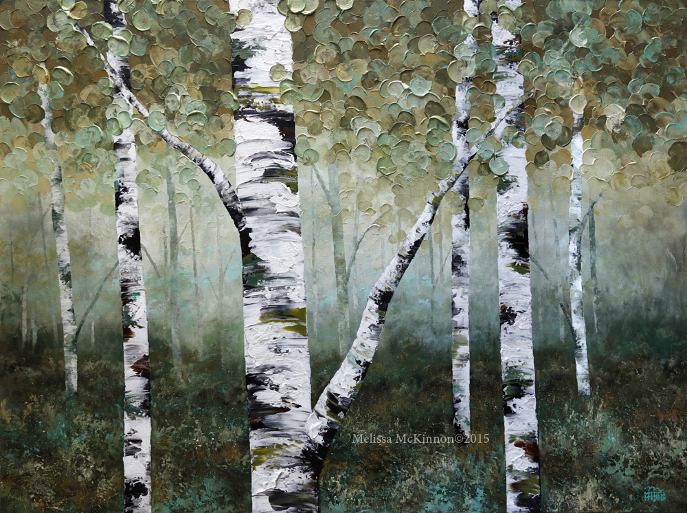 Birtch Tree Painting Artist