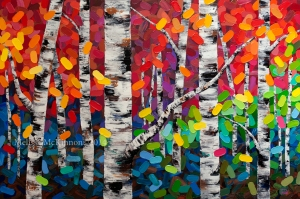 paintings, art, tree art, artwork, spring, aspen, birch, Calgary artist, Canadian artist, Alberta Landscape Painter, Contemporary Alberta Artist, Alberta Landscape Painting, Calgary paintings, Birch Tree Painting, Birch Tree Paintings, Aspen Tree Painting, Aspen Tree Paintings, Canmore art, Banff art, wedding gift, wedding registry, cool wedding gifts, original wedding presents, wedding commission painting, Canmore wedding, Banff wedding, Calgary Fine Art, Calgary, Alberta, Canada, Canadian Rocky Mountains, Banff, Canmore, Lake Louise, sky, prairies, mountain, mountains, lake, river, water, ocean, beach, playa, clouds, leaves, flowers, floral, abstract, Canada, Rockies, Art collector, artist to collect, original paintings, landscape paintings, oil paintings, acrylic paintings,tree paintings,paintings of trees, abstract paintings, abstract, modern, contemporary, fine art, art, art gallery,contemporary landscape painting, contemporary landscape artist, contemporary art, contemporary painting, aspen artist, Melissa Mckinnon, Aspen paintings, Aspen tree art, Aspen tree artist, Autumn Aspens, Autumn birches, Aspens, Autumn leaves, Birches, Big paintings, large paintings, impasto, thick paint, paintings with texture, palette knife, birch art, birch paintings, landscape painting commission, Painting Commission, Commission artist painter, custom painting, Aspen fine art, aqua art painting, teal art painting, turquoise art painting, yellow art painting, green art painting, black and white art painting, blue art painting, bright colors, bright painting, colourful painting, colourful, paintings for sale, home decor trends, art gallery, art exhibit, new paintings, art shows, custom paintings, painting commission, paintings for sale, greeting cards, art greeting cards,artistic note cards, custom greeting cards, aspen birch tree greeting cards, pintura, quadro, Chile, South America, montaña, arboles.