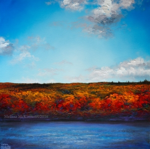 Colourful Prairie Mountain Cloudy Blue Sky Sunrise Sunset Painting by Canadian Contemporary Landscape Artist Painter Melissa McKinnon, blue sky, cloudy sky, Autumn foliage, autumn colours, Fall foliage, fall colours, fall landscape, autumn landscape, Fall leaves, river, rivers, river walk, river painting art, fall painting art, river bank, fine art, Contemporary landscape paintings, abstract landscape art, landscapes, Prairie paintings, Western art, sky paintings, paintings of clouds, sunset paintings, sunrise paintings, sky, clouds, sunset, sunrise, sunset art sunrise, cloudy skies, blue skies, beach photography, ocean photography, sea, seascape, Seascape paintings, ocean,ocean art, beach, beaches, beach art, Ocean paintings, beach paintings,  art, paintings, Contemporary Art, Landscape Painting, Wall art, interior design, design inspiration, home decor, interior designer, paintings for sale, colourful art, Decor, Interior design ideas, interior design inspiration, Calgary interior designer, interior design Calgary, Home, design, decor inspiration, interior styling, modern home, style, interiors, modern decor, home inspiration, interior decorating, Art In The Home, art, wall art, wall decor, modern art,Calgary artist, Canadian artist, Alberta Landscape Painter, Contemporary Alberta Artist, Alberta Landscape Painting, Calgary paintings, Calgary Fine Art, Calgary, Alberta, Canada, Canadian Rocky Mountains, mountain art, mountain paintings, Banff, Canmore, Lake Louise, sky, prairies, mountain, mountains, lake, river, water, ocean, beach, playa, clouds, original paintings, landscape paintings, oil paintings, acrylic paintings, abstract paintings, abstract landscapes, national geographic landscapes, paintings of fields, field of flowers, modern art, contemporary landscape art, nature art, fine art, art, art gallery,contemporary landscape painting, Melissa Mckinnon, Big paintings, large paintings, impasto, thick paint, paintings with texture, palette knife painting, landscape painting commission, Painting Commission, Commission artist painter, custom art, custom painting, Aspen fine art, red art painting, aqua art painting, teal art painting, turquoise art painting, yellow art painting, green art painting, black and white art painting, fuchsia art painting, orange art painting, blue art painting, bright colors, bright painting, colourful painting, colourful, paintings for sale, home decor trends, art gallery,