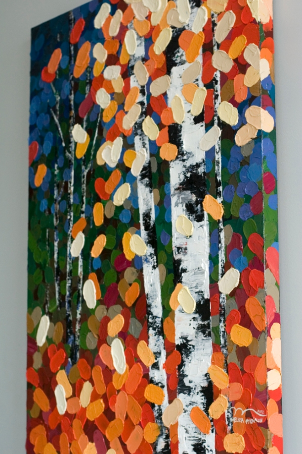 Autumn aspen birch tree painting, fall painting, fall leaves, autumn painting, autumn art, fall art, paintings with autumn fall colours, orange painting art,  blue painting art, green painting art, yellow painting art,colourful paintings, colourful art, tree art, colourful artwork, aspen tree, birch tree, aspen tree art painting, aspen tree art painting, impasto, bright colours, Autumn trees, Red art painting, green art painting, blue art painting, orange art painting, turquoise art painting, black and white art painting, purple art painting, yellow art painting, aqua art painting, Calgary artist, Canadian artist, Alberta Landscape Painter, Contemporary Alberta Artist, Alberta Landscape Painting, Calgary paintings, Birch Tree Painting, Birch Tree Paintings, Art of Alberta, Western art, Canadian Western Art, Western artist, western painting, Aspen Tree Painting, Aspen Tree Paintings, Calgary Fine Art, Calgary, Alberta, Canada, Canadian Rocky Mountains, Banff, Canmore, abstract, Canada, Rockies, Art collector, artist to collect, original paintings, landscape paintings, oil paintings, acrylic paintings,tree paintings,paintings of trees, abstract paintings, abstract art, wall art, wall decor, modern, contemporary, fine art, art, art gallery,contemporary landscape painting, contemporary landscape artist, contemporary art, contemporary painting, aspen artist, Melissa Mckinnon, Aspen paintings,Aspen tree art, Aspen tree artist, Autumn Aspens, Autumn birches, Aspens, Autumn leaves, Birches, Big paintings, large paintings, impasto, thick paint, paintings with texture, palette knife, birch art, birch paintings, landscape painting commission, Painting Commission, Commission artist painter,custom painting, Aspen fine art, aqua art painting, tealart painting, turquoiseart painting, yellow art painting, green art painting, black and whiteart painting, blue art painting, bright colors, bright painting, colourful painting, colourful, paintings for sale, home decor trends, art galle