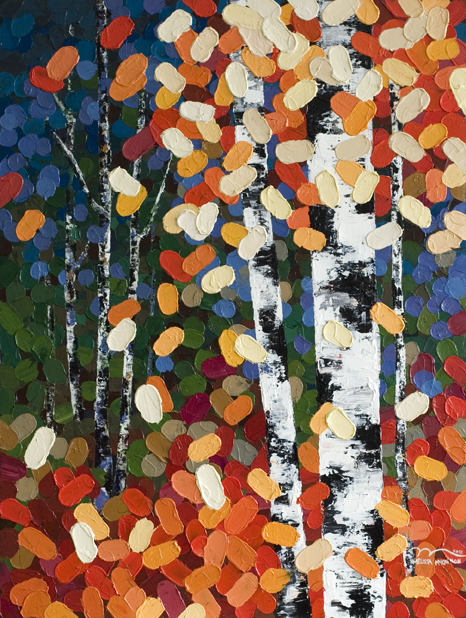 Autumn aspen birch tree painting, fall painting, fall leaves, autumn painting, autumn art, fall art, paintings with autumn fall colours, orange painting art, blue painting art, green painting art, yellow painting art,colourful paintings, colourful art, tree art, colourful artwork, aspen tree, birch tree, aspen tree art painting, aspen tree art painting, impasto, bright colours, Autumn trees, Calgary artist, Canadian artist, Alberta Landscape Painter, Contemporary Alberta Artist, Alberta Landscape Painting, Calgary paintings, Birch Tree Painting, Birch Tree Paintings, Art of Alberta, Western art, Canadian Western Art, Western artist, western painting, Aspen Tree Painting, Aspen Tree Paintings, Calgary Fine Art, Calgary, Alberta, Canada,  Contemporary Art, Landscape Painting, Wall art, interior design, design inspiration, home decor, interior designer, Decor, Interior design ideas, interior design inspiration, Calgary interior designer, interior design Calgary, Home, design, decor inspiration, interior styling, modern home,  style, interiors, modern decor, home inspiration, interior decorating, Art In The Home, Nature lover, nature, interior design, design inspiration, home decor, interior designer, art, wall art, wall decor, modern art, landscape paintings; oil paintings; acrylic paintings; abstract paintings; abstract; modern; contemporary; fine art; art; art gallery; contemporary landscape painting; contemporary landscape artist; contemporary art; contemporary painting; art gallery;
