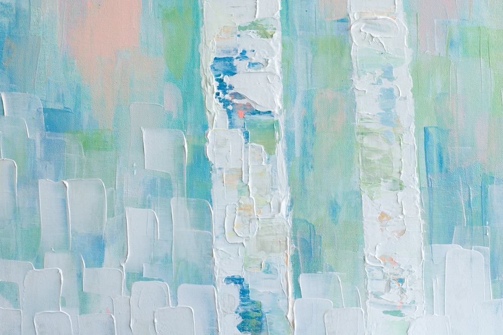 Detail Of Background Color Tree Trunks Abstract Aspen