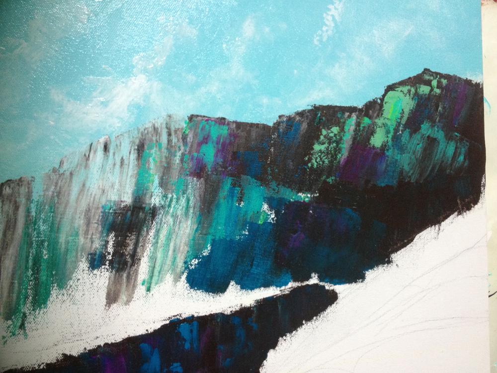 Contemporary Art Mountains