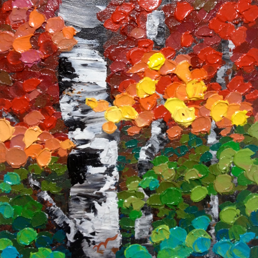 Paintings impasto thick paint paintings with texture palette knife
