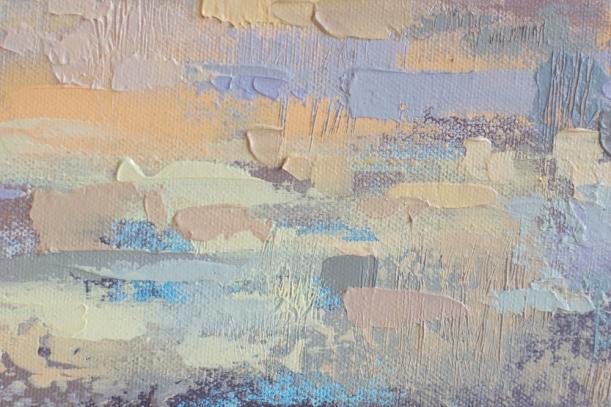 Prairie Sky Original Acrylic Painting by Calgary Artist Melissa McKinnon