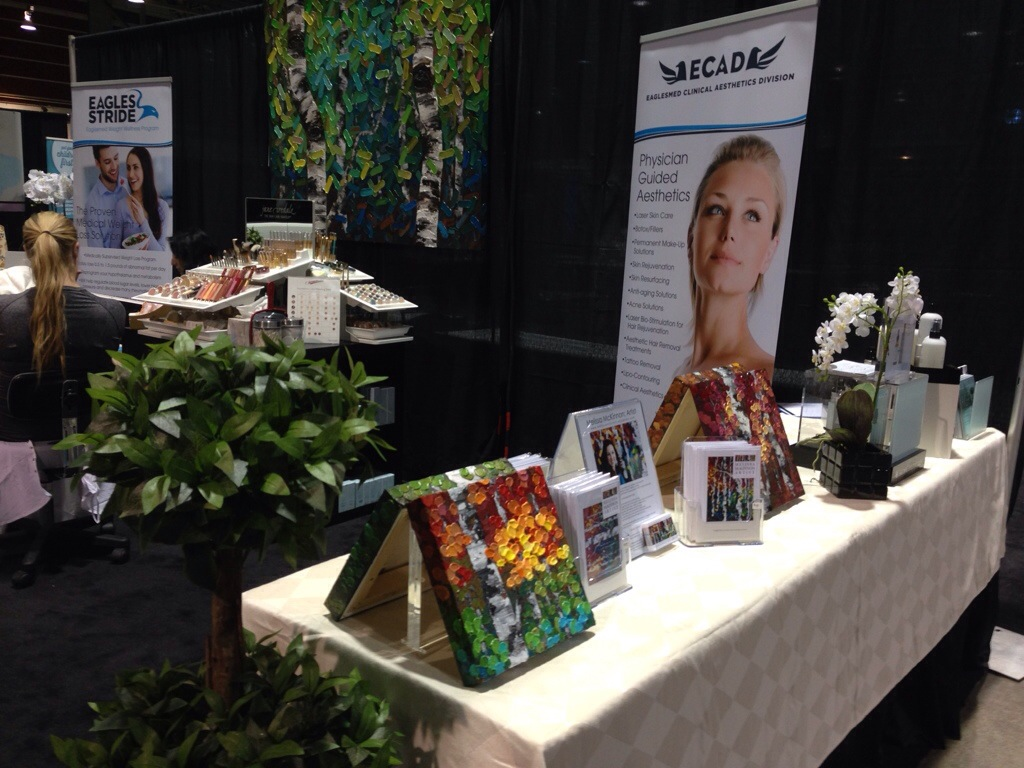 Art Paintings And Holiday Greeting Cards At Calgary Womans Show