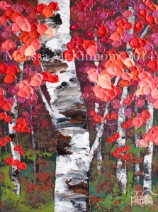 tree paintings, acrylic paintings, art, contemporary landscape painting, contemporary landscape artist, contemporary art, contemporary painting, bright colour art, colourful art, colourful paintings, oil paintings, artist to collect, top artist, Melissa McKinnon, aspen artist, Aspen paintings, Aspen art, Aspen tree forest painting, birch tree painting, Aspen landscape, Canadian autumn painting, Autumn tree painting, Birches, birch tree art, birch tree paintings, Aspen trees, birch trees, red, gold, yellow, orange, brown, black, white blue, green, turquoise, teal, aqua, purple, fall autumn colors, abstract landscape painting, thick texture paintings, impasto paintings, paintings for sale, Calgary artist, Calgary painter, original paintings, landscape paintings, calgary art galleries, art gallery painting, Calgary, Alberta, Canada, Toronto, Montreal, Vancouver, tree paintings for sale, art prints for sale, custom paintings, commissioned paintings, artist who does commission paintings, how to commission a painting.