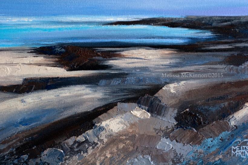 Ocean Shore Oil Paintings