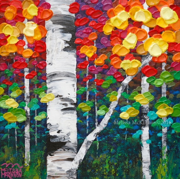 Colourful Aspen Trees Birch Tree Forest Nature Art Painting by Canadian Contemporary Landscape Artist Painter Melissa McKinnon, Aspen tree art painting; Birch Tree Painting; Birch Tree Art; Art of Alberta; Western art; Canadian Western Art; Western artist; western painting; abstract landscape painting; abstract tree painting; Aspen Tree Art; Aspen Tree Paintings; bright colourful art; Autumn trees; Fall trees; Red art painting; green art painting; blue art painting; orange art painting; turquoise art painting; black and white art painting; purple art painting; yellow art painting; aqua art painting; Calgary artist; Canadian artist; Alberta Landscape Painter; art, paintings, Contemporary Art, Landscape Painting, Wall art, interior design, design inspiration, home decor, interior designer, paintings for sale, Decor, Interior design ideas, interior design inspiration, Calgary interior designer, interior design Calgary, Home, design, decor inspiration, interior styling, modern home, style, interiors, modern decor, home inspiration, interior decorating, Art In The Home, art, wall art, wall decor, modern art, fine art,Contemporary Alberta Artist; Alberta Landscape Painting; Calgary paintings; Calgary Fine Art gallery; Calgary; Alberta; Canada; Canadian Rocky Mountains; Banff; Canmore; Autumn aspen birch tree painting; colourful paintings; colourful art; tree art; colourful artwork; aspen tree; birch tree; artist to collect; original paintings; landscape paintings; oil paintings; acrylic paintings; tree paintings; paintings of trees; abstract paintings; abstract art; wall art; wall decor; modern; contemporary; fine art; art; art gallery; contemporary landscape painting; contemporary landscape artist; contemporary art; contemporary painting; aspen artist; Melissa Mckinnon; Aspen paintings; Aspen tree art; Aspen tree artist; Autumn Aspens; Autumn birches; Aspens; Autumn leaves; Birches; Big paintings; large paintings; impasto; thick paint; paintings with texture; palette knife; birch art; birch paintings; landscape painting commission; Painting Commission; Commission artist painter; custom painting; Aspen fine art; Colorado art; Colorado paintings; Colorado artist; Ontario artist; bright colors; bright painting; colourful painting; colourful; paintings for sale; home decor trends; art gallery; Decor; Interior design ideas; interior design inspiration; interior design; Aspen tree forest painting; birch tree painting; birch tree paintings; Autumn Aspen trees; Aspen forest; Aspen landscape; Aspen tree art; Aspen tree artist; Aspen tree paintings; Autumn; Autumn Aspens; Autumn birches; Aspens; Autumn leaves; Birches; big aspen art; birch art; birch paintings; lanscape painting commission; fine art; Aspen fine art; fall trees; fall; fall landscape.