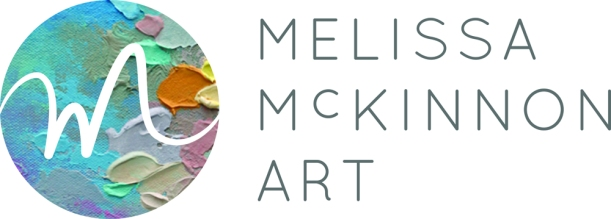 Melissa McKinnon Art Logo Contemporary Landscape Paintings Fine Art Prints Canvas